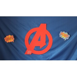 decoration anniversaire avengers