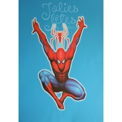sticker spiderman decoration anniversaire spiderman sweet table